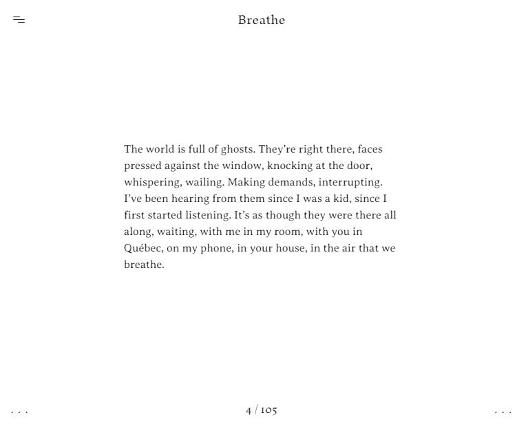 extrait Breathe